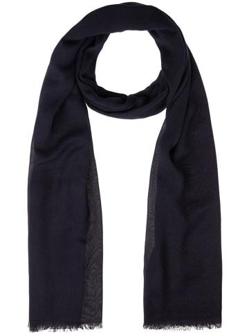 More & More Sjaal donkerblauw