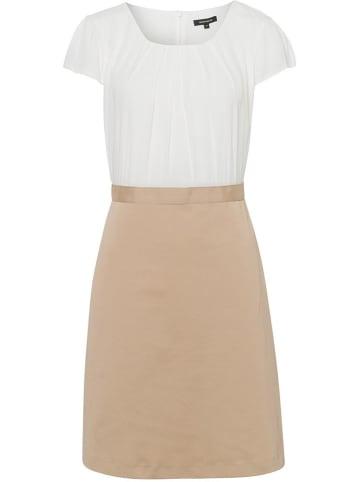 More & More Sukienka w kolorze biało-beżowym