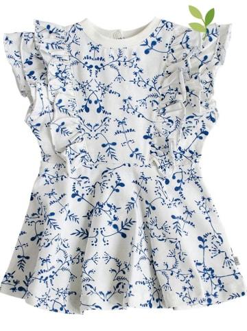 """Ebbe Sukienka """"Rila"""" w kolorze biało-niebieskim"""