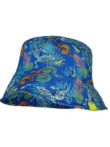 MaxiMo Kapelusz w kolorze niebieskim ze wzorem