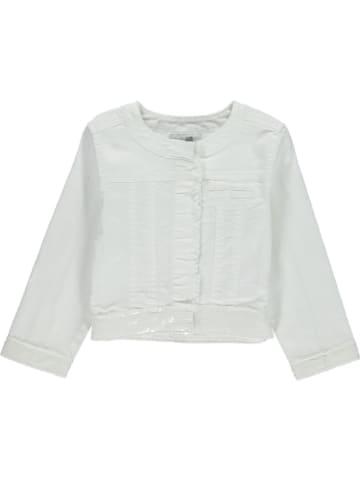 Happy girls by Eisend Kurtka dżinsowa w kolorze białym