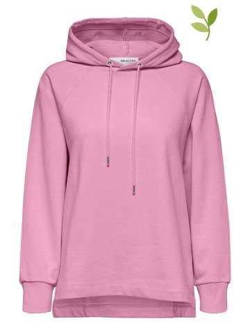 """SELECTED FEMME Bluza """"Jasie"""" w kolorze jasnoróżowym"""