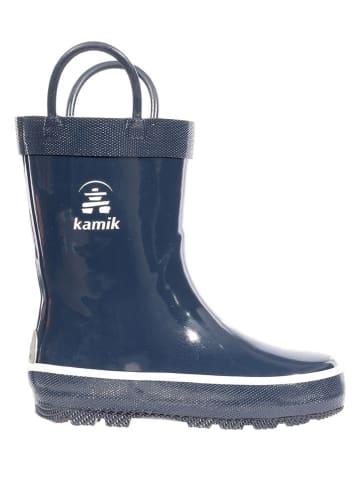 "Kamik Gummistiefel ""Splashed"" in Dunkelblau"