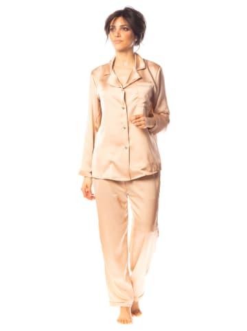 "Saint Germain Paris Pyjama ""Lorna"" camel"