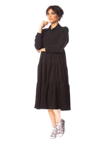 """Saint Germain Paris Sukienka """"Tessa"""" w kolorze czarnym"""