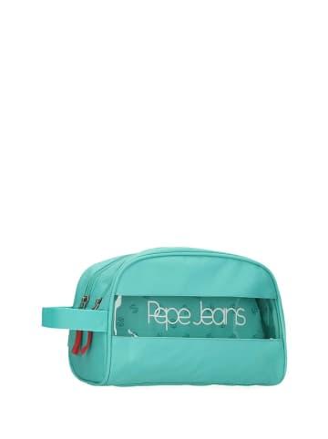 Pepe Jeans Toilettas  groen - (B)26 x (H)16 x (D)12 cm