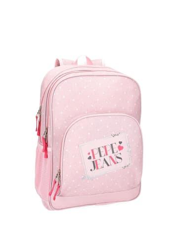 Pepe Jeans Plecak w kolorze różowym - (S)32 x (W)44 x (G)22 cm