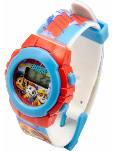 Paw Patrol Zegarek LCD w kolorze błękitno-czerwonym - 3+