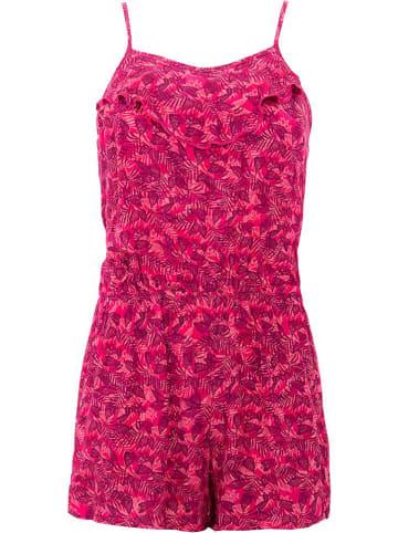 Coline Kombinezon w kolorze różowo-czerwonym