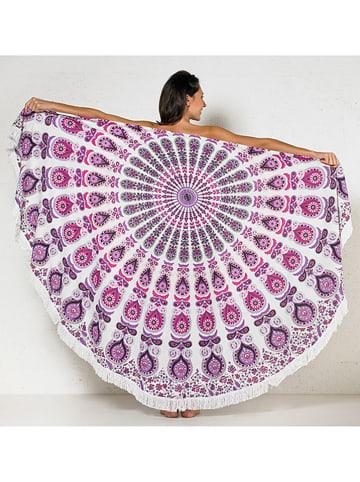 Coline Pareo w kolorze biało-różowo-fioletowym