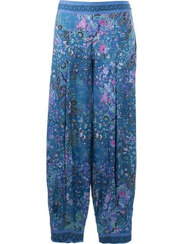 Coline Spodnie w kolorze niebieskim