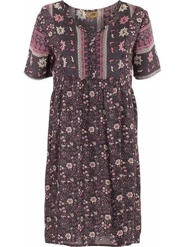 Coline Sukienka w kolorze czarno-jasnoróżowym