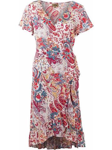 Coline Sukienka w kolorze białym ze wzorem