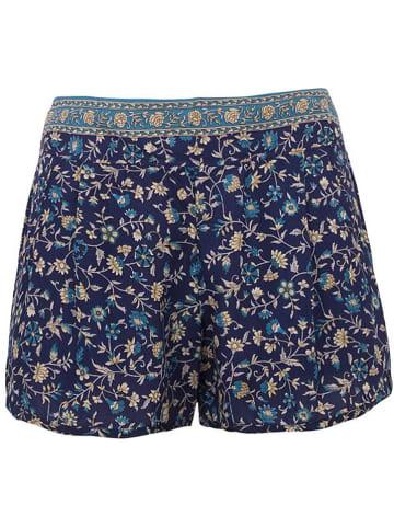 Coline Shorts in Dunkelblau/ Bunt