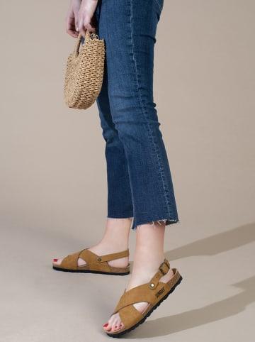 """Sunbay Sandały """"Vidono"""" w kolorze jasnobrązowym"""