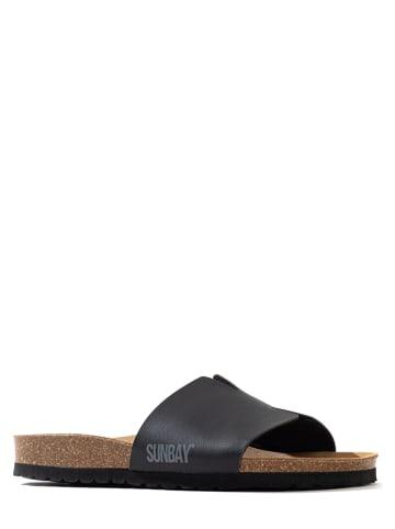 """Sunbay Slippers """"Djeelia"""" zwart"""