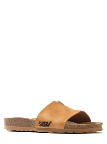 "Sunbay Slippers""Djeelia"" camel"