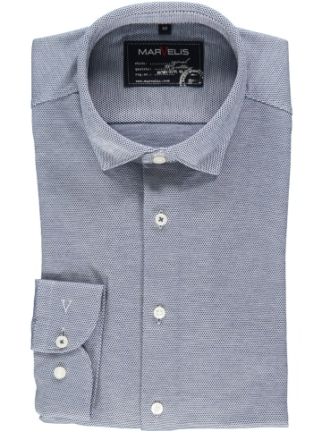 MARVELIS Blouse - casual fit - blauw/wit