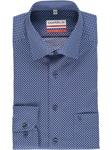 MARVELIS Hemd - Modern fit - in Blau