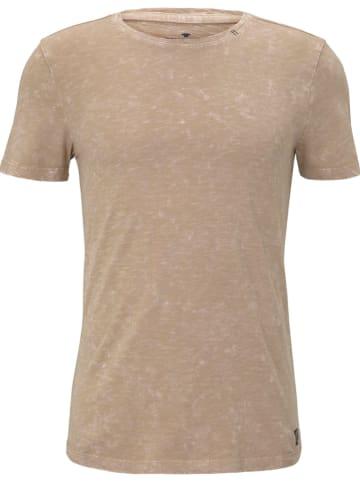 Tom Tailor Koszulka w kolorze beżowym