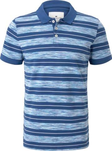 Tom Tailor Koszulka polo w kolorze niebieskim