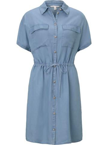 TOM TAILOR Denim Sukienka w kolorze błękitnym