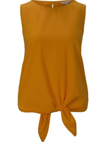 TOM TAILOR Denim Top in Orange