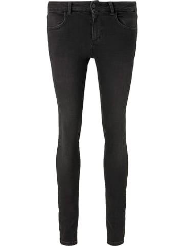 TOM TAILOR Denim Dżinsy - Skinny fit - w kolorze czarnym