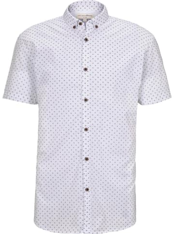 TOM TAILOR Denim Hemd - Slim fit - in Weiß