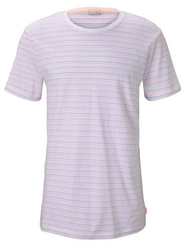 TOM TAILOR Denim Shirt in Weiß