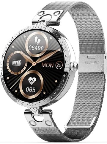WHIPEARL Smartwatch w kolorze srebrnym