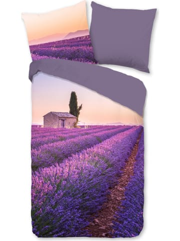"Pure Microvezel beddengoedset ""Lavender"" paars"