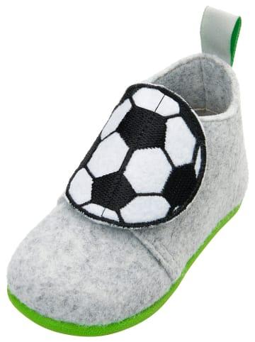 Playshoes Pantoffels grijs
