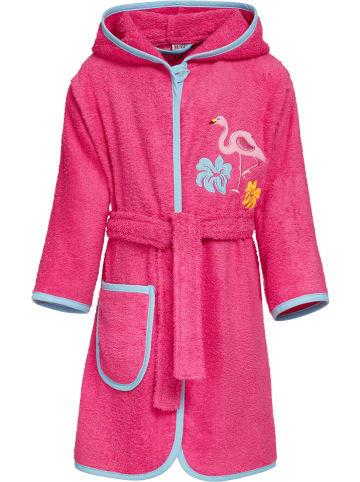 Playshoes Szlafrok w kolorze różowym