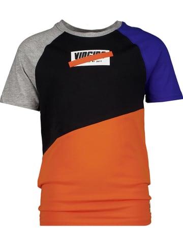 """Vingino Shirt """"Hastoni"""" oranje/zwart/donkerblauw"""