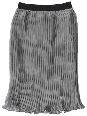 Karl Lagerfeld Kids Spódnica plisowana w kolorze szarym