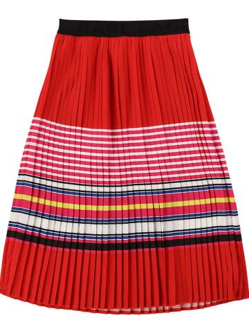 Karl Lagerfeld Kids Spódnica plisowana w kolorze czerwonym