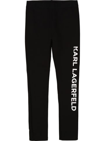 Karl Lagerfeld Kids Legging zwart