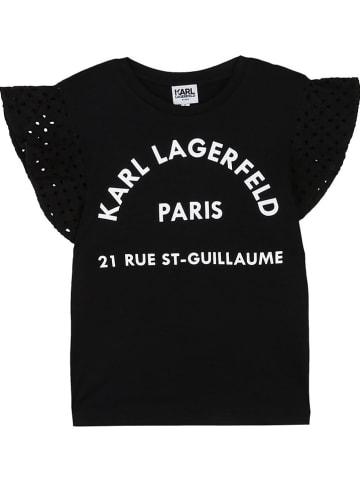 Karl Lagerfeld Kids Shirt zwart
