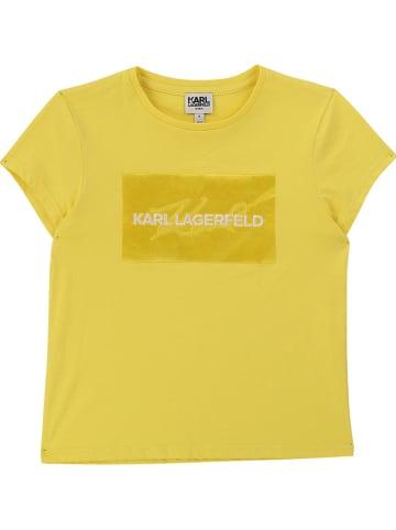Karl Lagerfeld Kids Shirt in Gelb