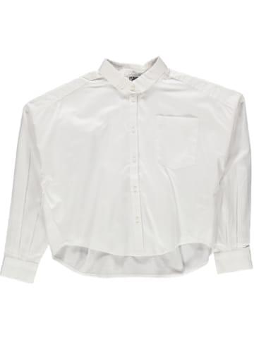 Karl Lagerfeld Kids Bluzka w kolorze białym