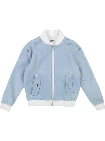 Karl Lagerfeld Kids Blouson lichtblauw