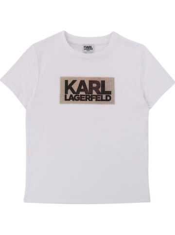 Karl Lagerfeld Kids Shirt wit