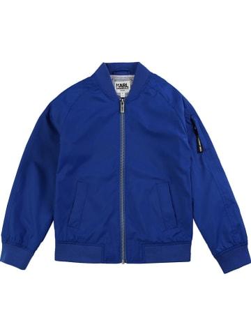 Karl Lagerfeld Kids Blouson blauw