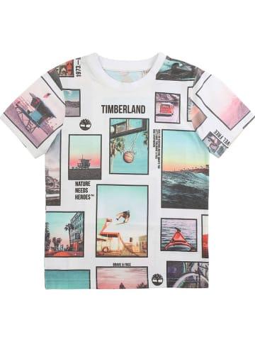 Timberland Shirt wit/meerkleurig