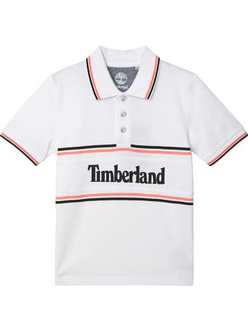 Timberland Koszulka polo w kolorze białym