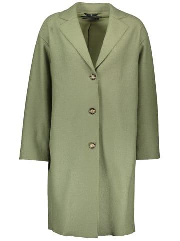 Marc O´Polo Wełniany płaszcz w kolorze zielonym