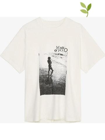 Marc O´Polo Shirt wit/zwart