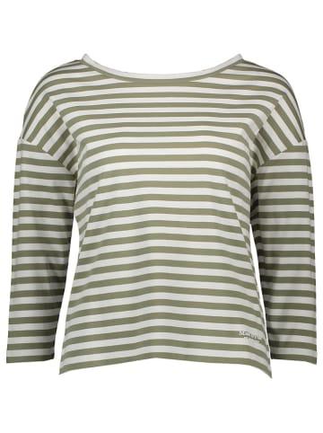 Marc O´Polo Koszulka w kolorze zielono-białym