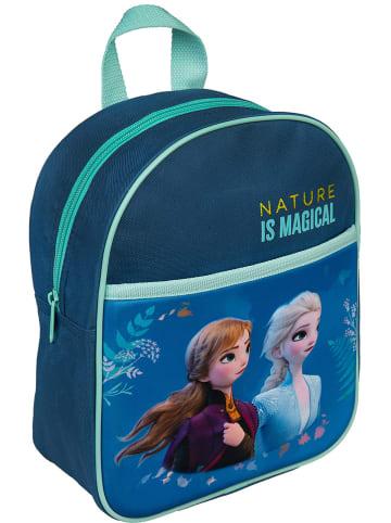 """Disney Frozen Plecak """"Frozen"""" w kolorze niebieskim - 22 x 28 x 10,5 cm"""